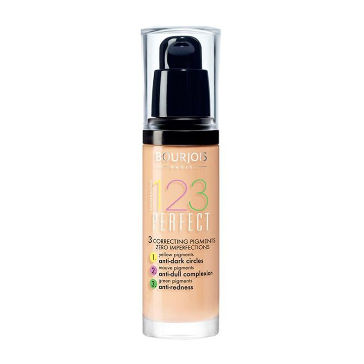 Foundation 123 Perfect de Bourjois: bases de maquillaje 2019