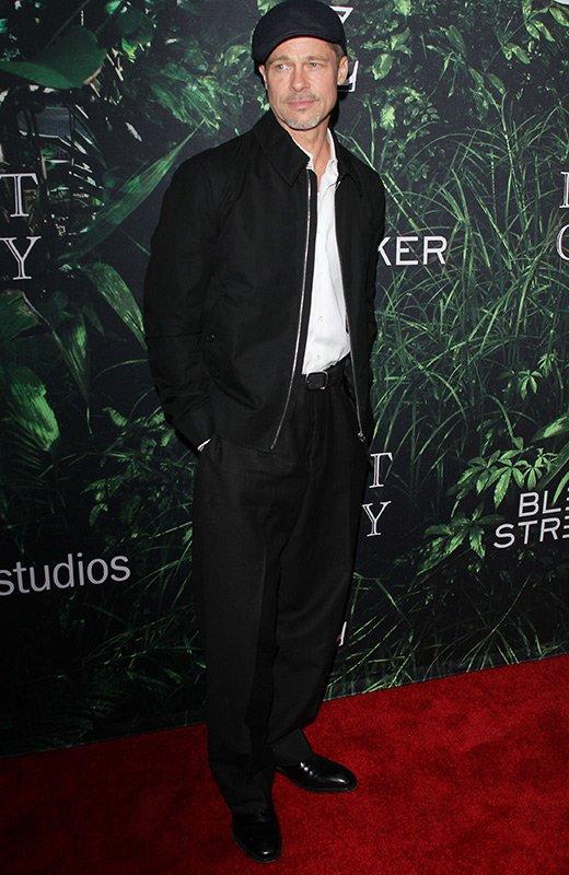Brad Pitt estreno