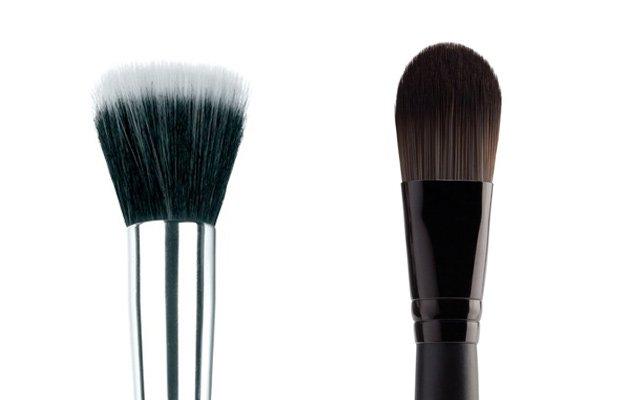 brochas maquillaje rostro
