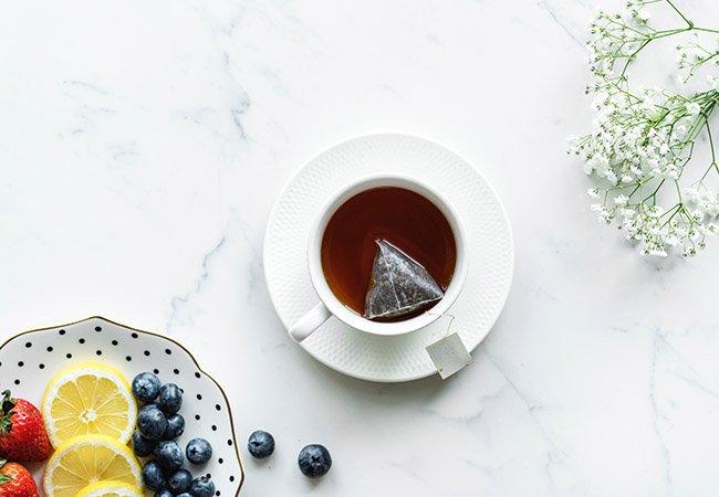 té verde para conseguir un bronceado duradero