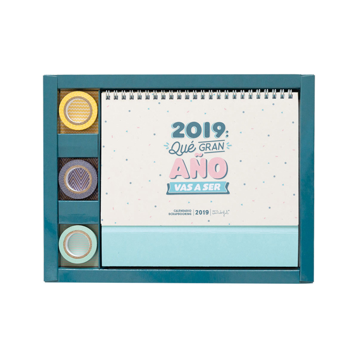 Calendario 2019 de Mr. Wonderful: regalos amigo invisible