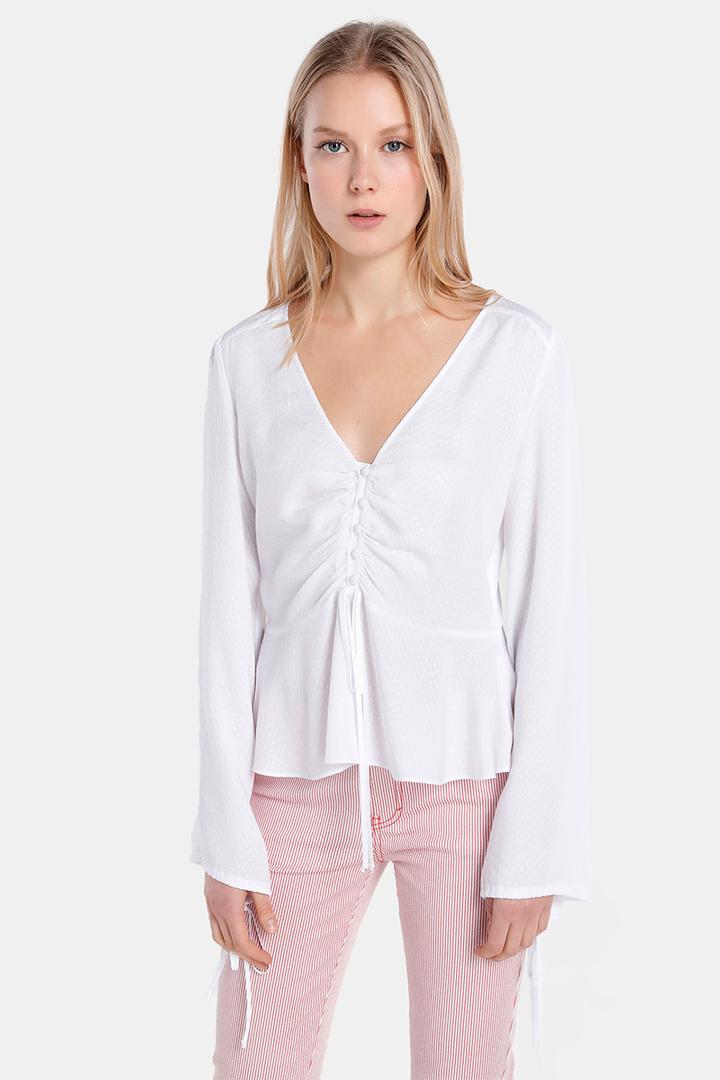 Camisa blanca de El Corte Inglés