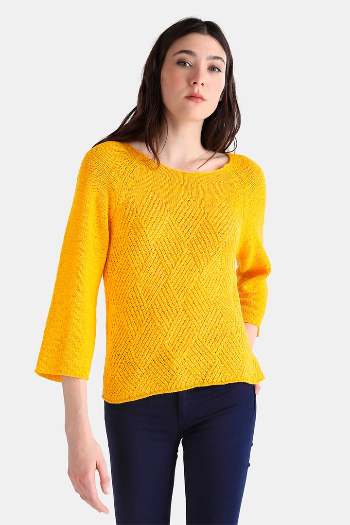 Jersey amarillo de El Corte Inglés
