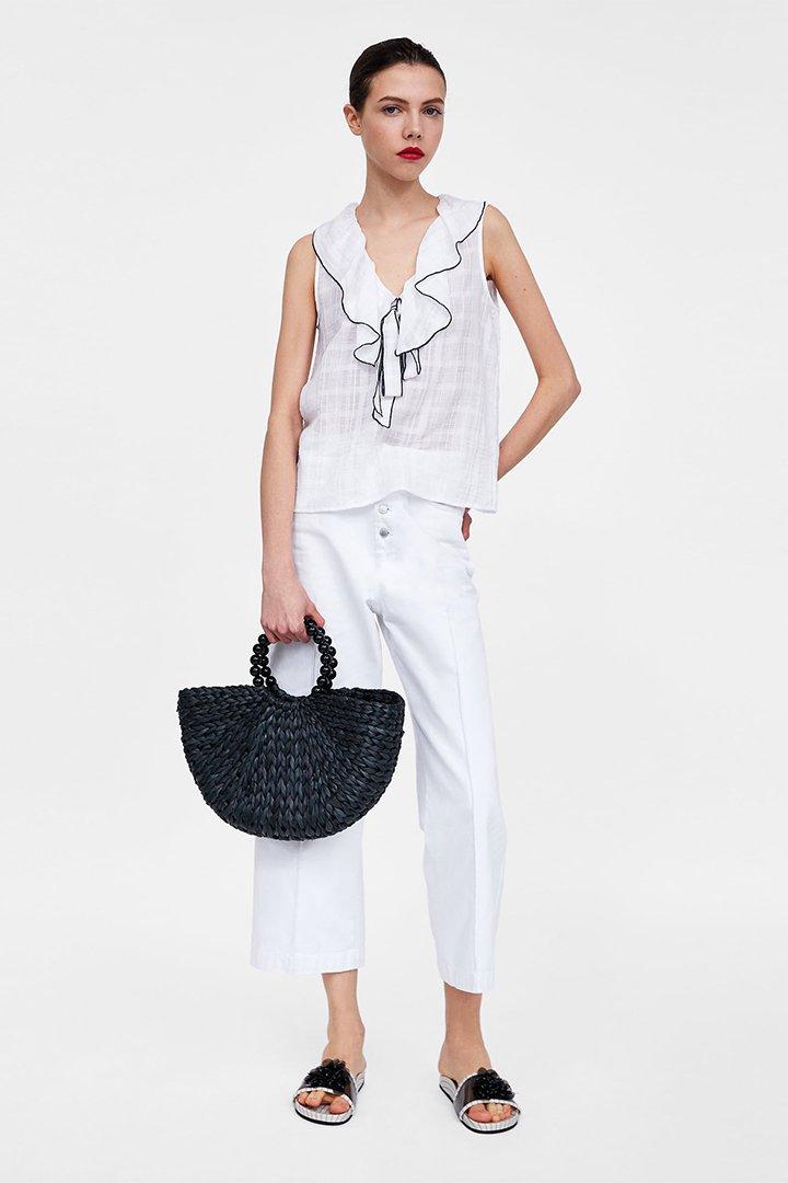 8ef48a1649a2 Las camisas blancas más guay son de Zara - StyleLovely