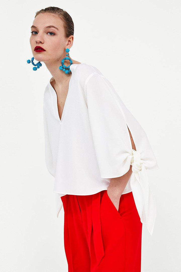 Camisas blancas de Zara
