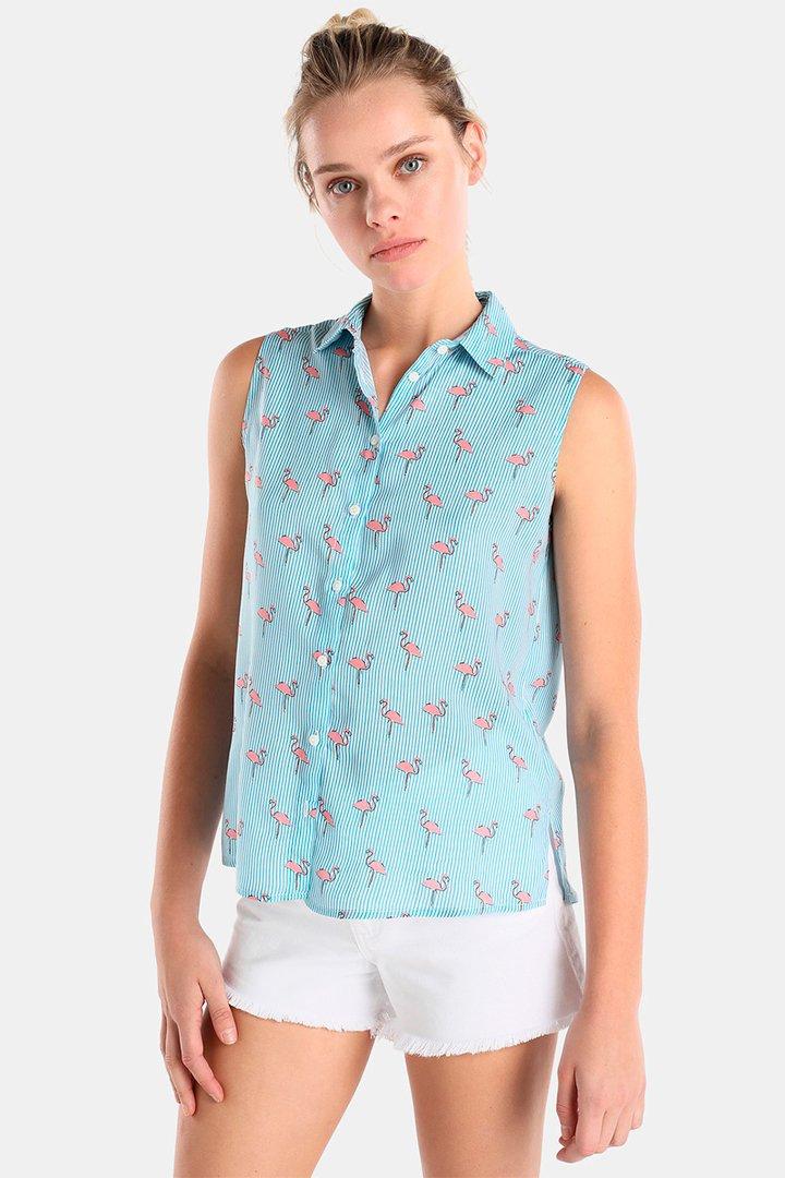 Camisa estampada en tonos pastel de Easy Wear