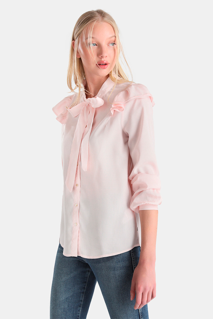 Blusa de rayas en tonos pastel de Pepe Jeans
