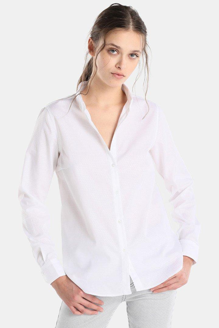 Camisa Tintoretto: Estilo Meghan Markle