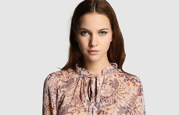 Camisa flores Fórmula Joven