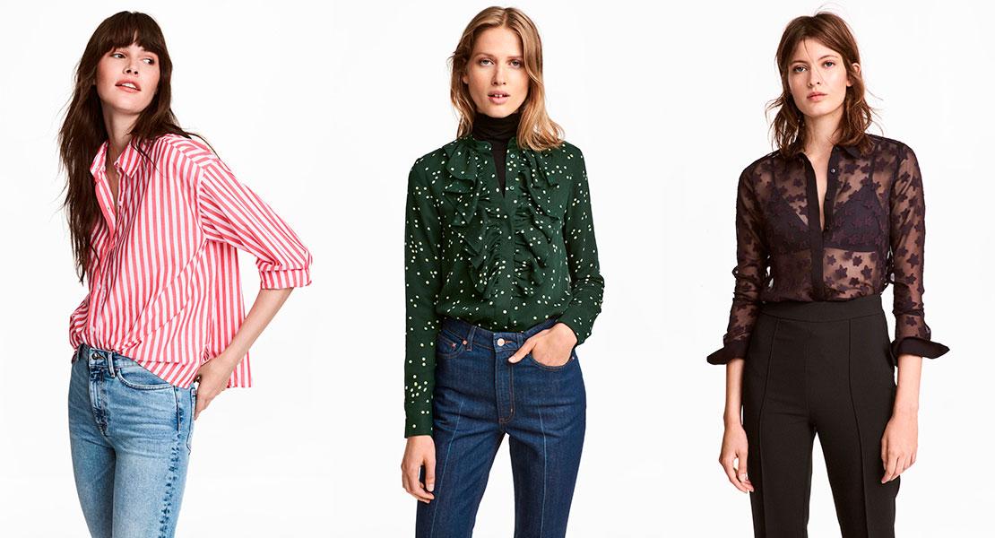 Oswald Grillo Grapa  100% H&M: las camisas y blusas definitivas - StyleLovely