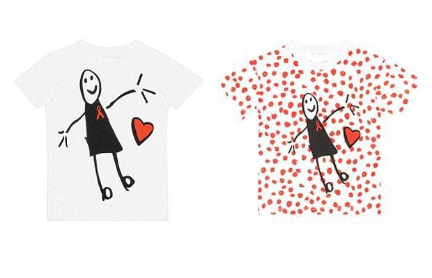 Camisetas solidarias Victoria Beckham