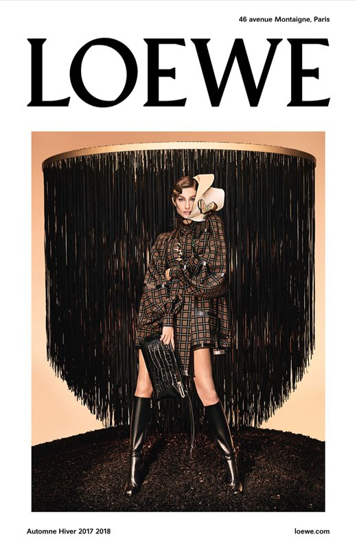 Loewe Gisele Bündchen imagen de campaña