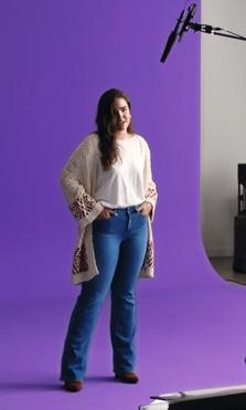 Mango lanza #WeAreVioleta para dar voz a las mujeres con curvas