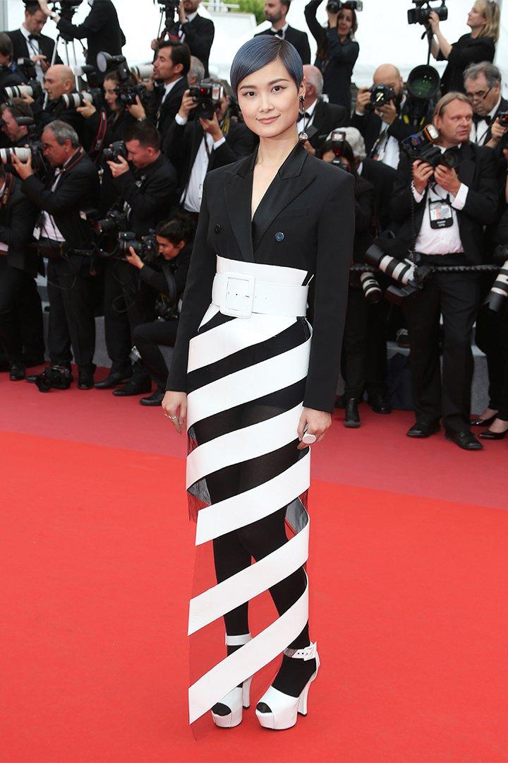 Li Yuchun en Cannes 2018