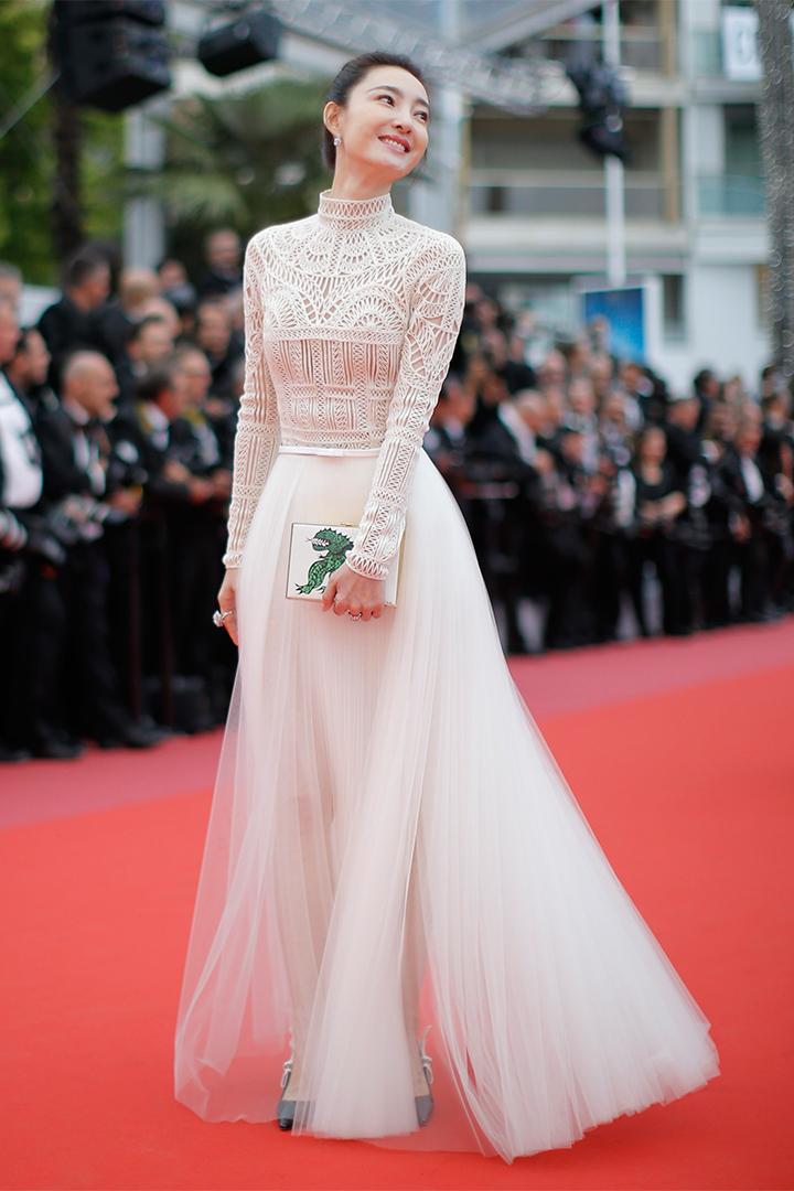 Wang Likun en Cannes 2018