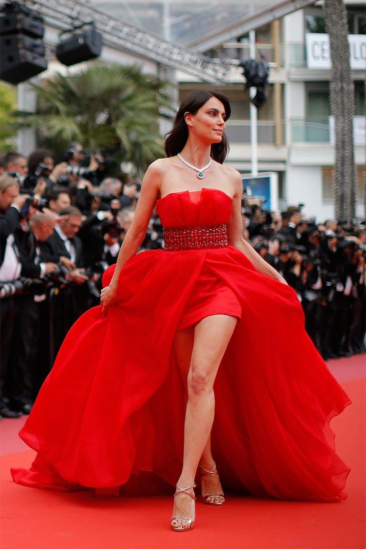 Catrinel Menghia en Cannes 2018