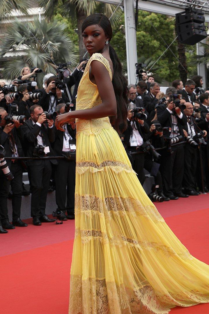 Leomie Anderson en Cannes 2018