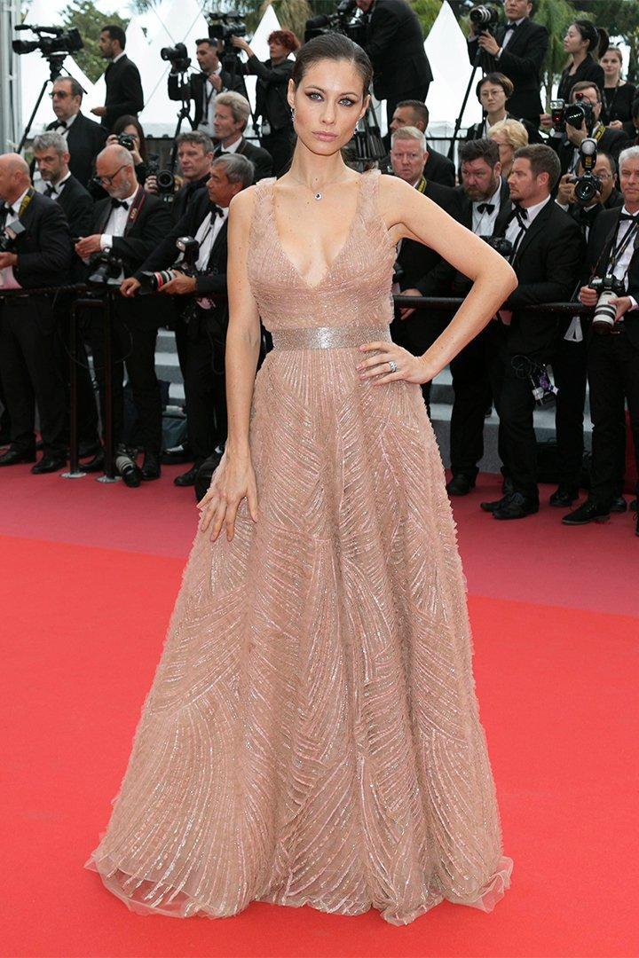 Marica Pellegrinelli en Cannes 2018