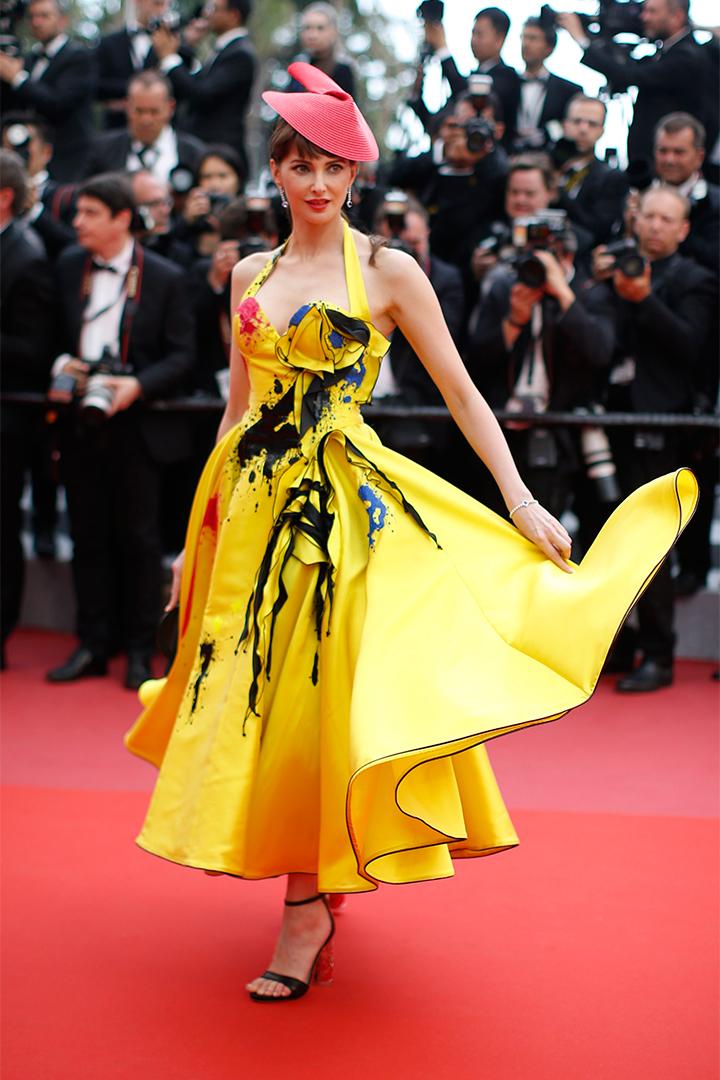 Frederique Bel en Cannes 2018