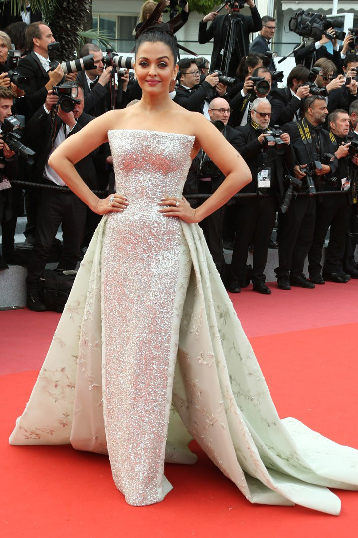 Aishwarya Rai en Cannes 2018