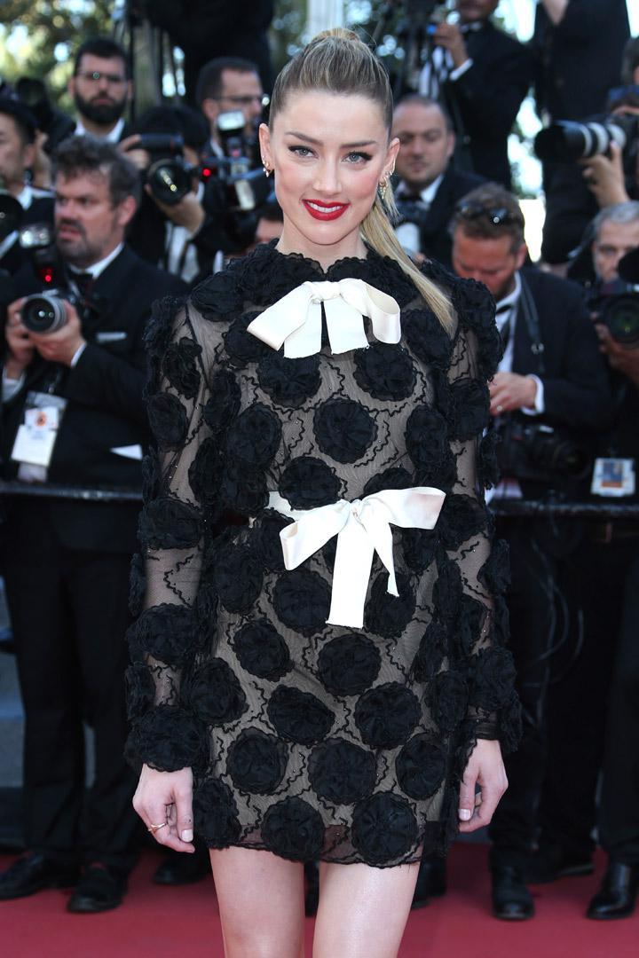 Amber Heard en Cannes 2018