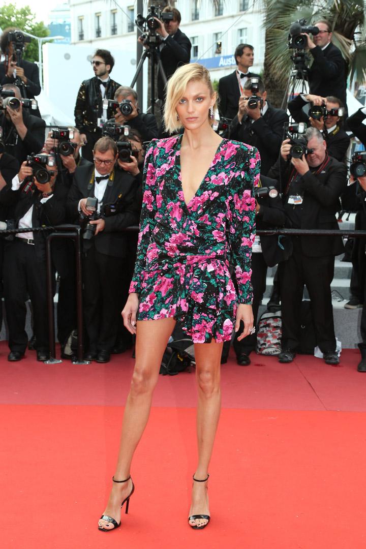 Anja Rubik en Cannes 2018