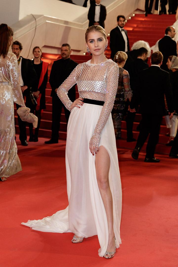 Caroline Daur en Cannes 2018