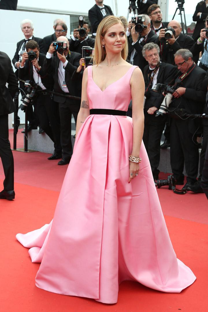 Chiara Ferragni en Cannes 2018