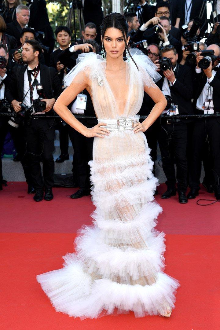 Kendall Jenner en Cannes 2018