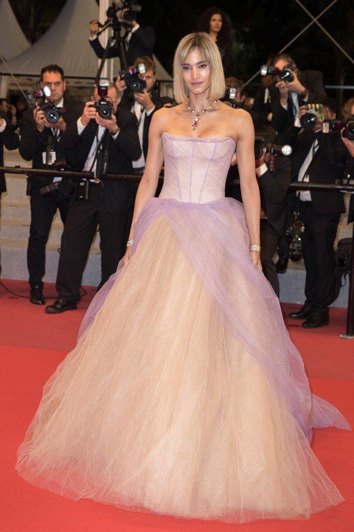 Sofia Boutella en Cannes 2018