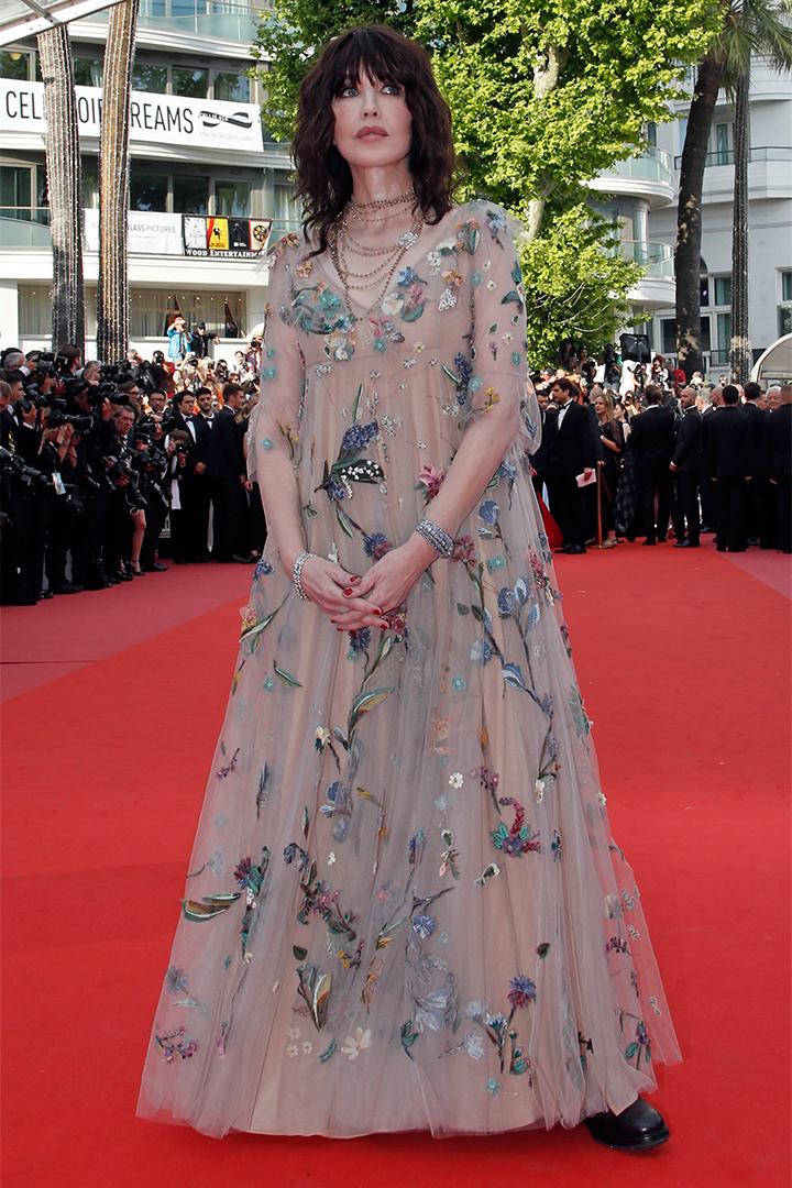 Isabelle Adjani en Cannes 2018