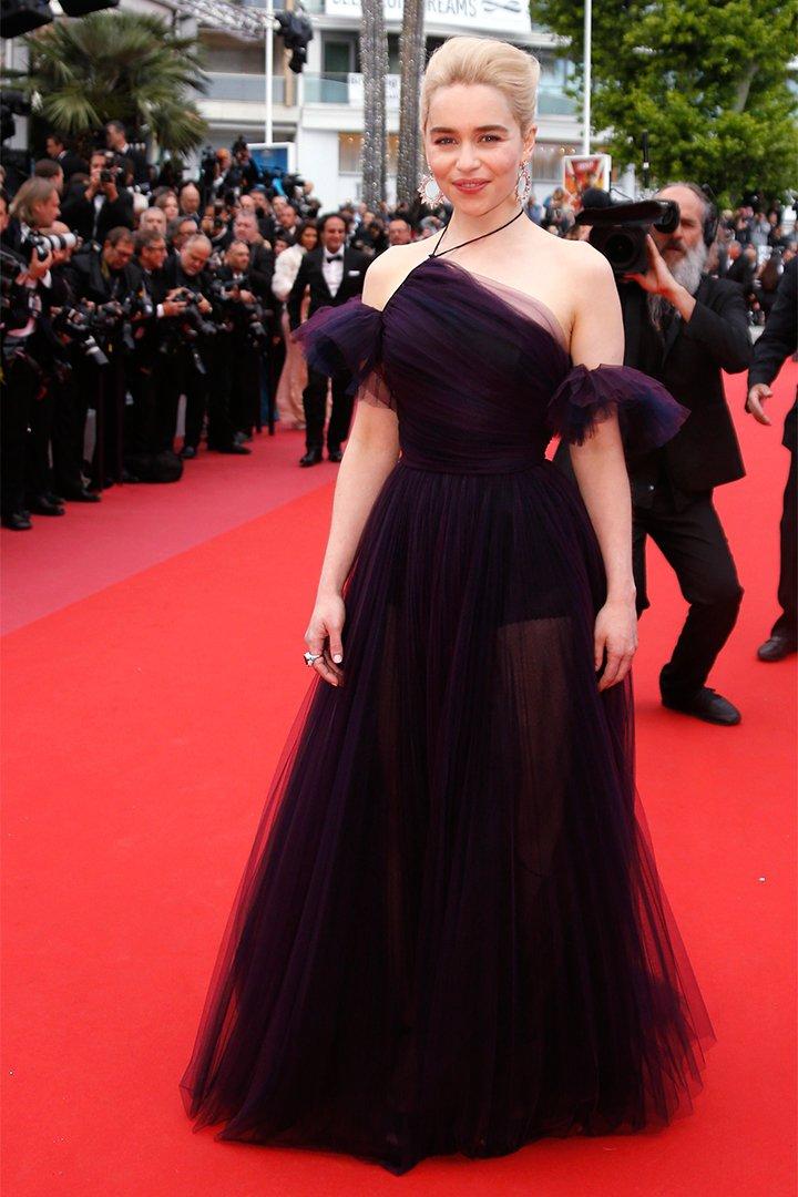 Emilia Clarke en Cannes 2018