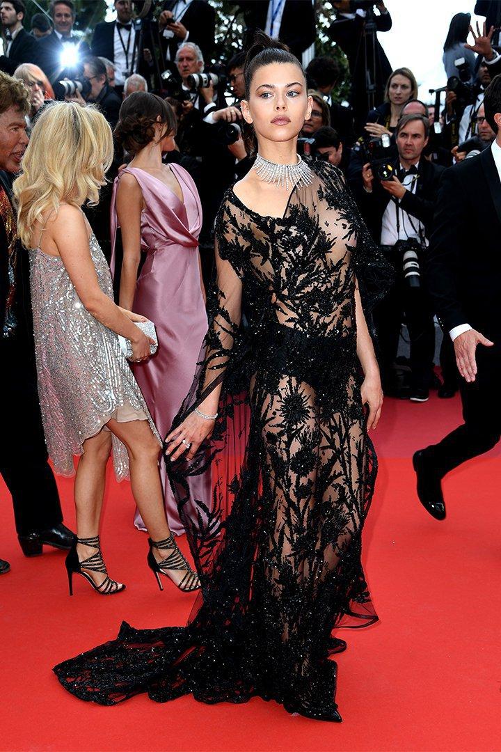 Georgia Fowler en Cannes 2018