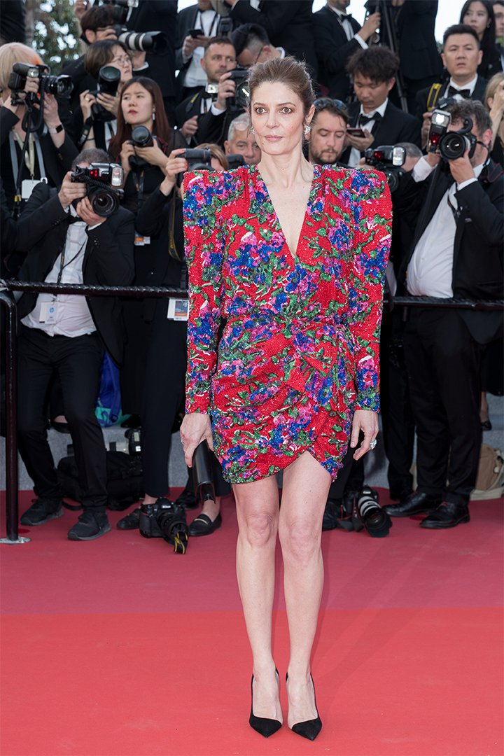 Chiara Mastroianni en Cannes 2018