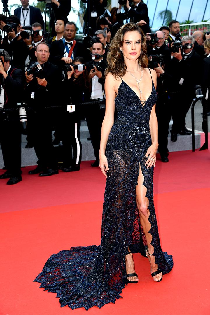 Alessandra Ambrosio en Cannes 2018