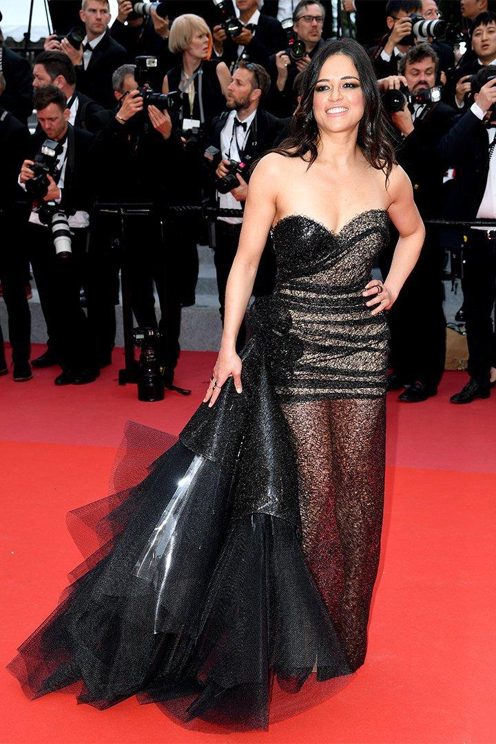 Michelle Rodriguez en Cannes 2018