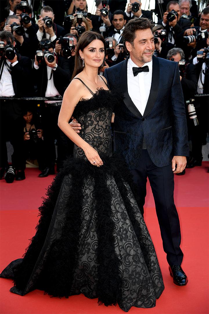 Penélope Cruz y Javier Bardem en Cannes 2018