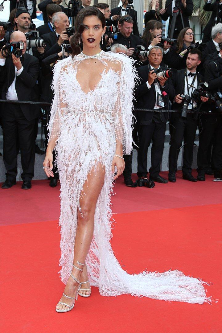 Sara Sampaio en Cannes 2018