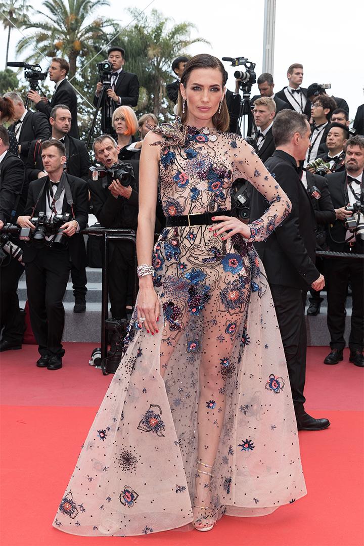 Nieves Álvarez en Cannes 2018