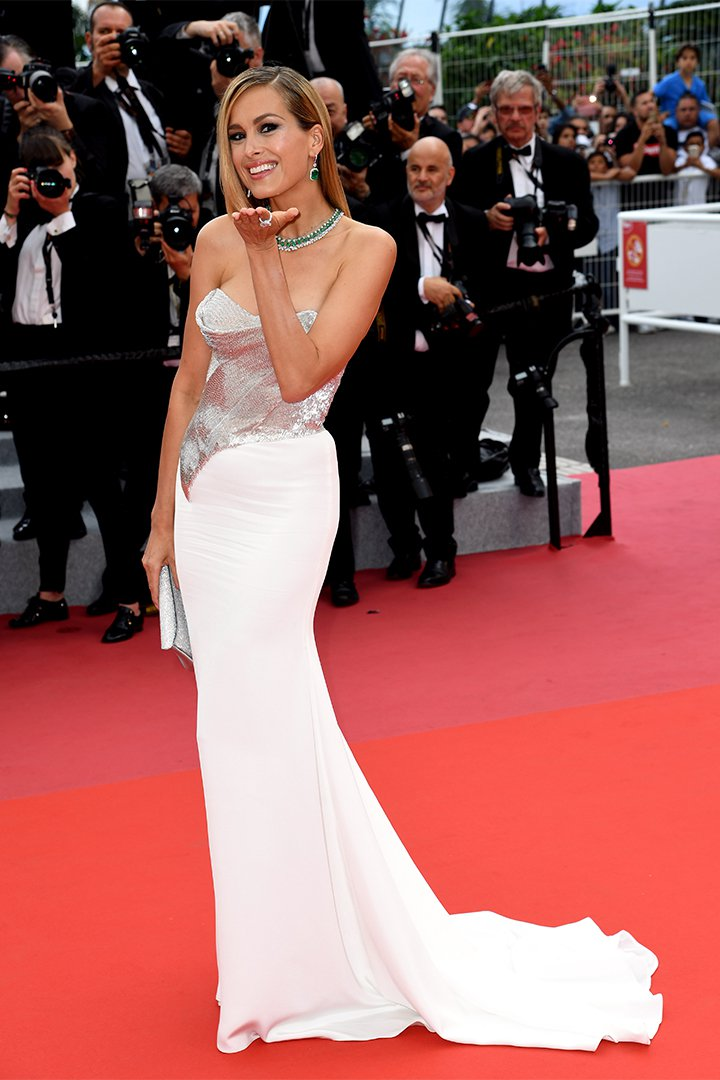 Petra Nemcova en Cannes 2018