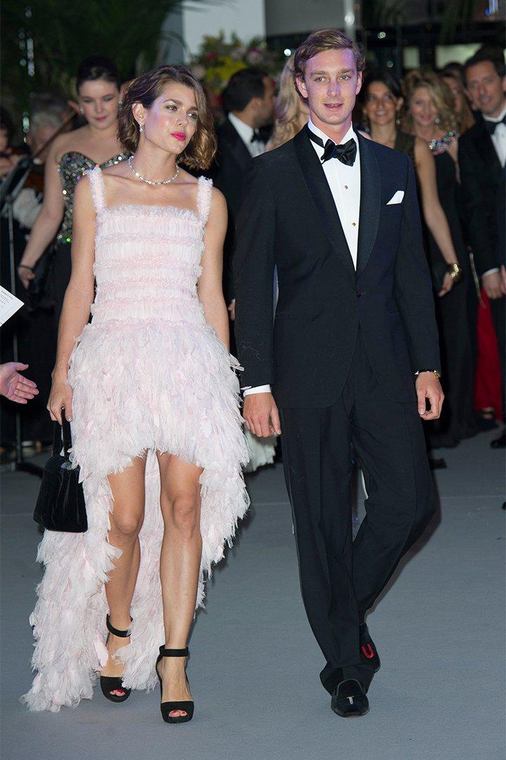 Carlota Casiraghi con vestido rosa de Chanel