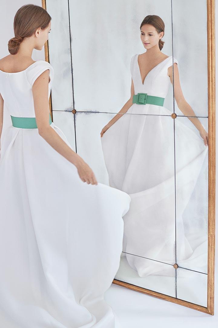 Así son los vestidos de novia de Carolina Herrera para 2018 ...