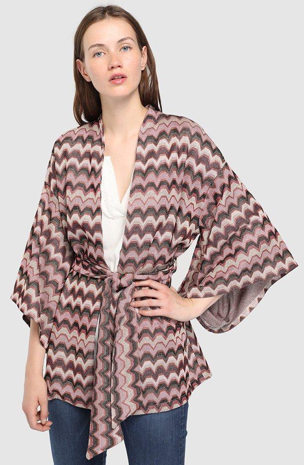 Kimono zig zag Tintoretto