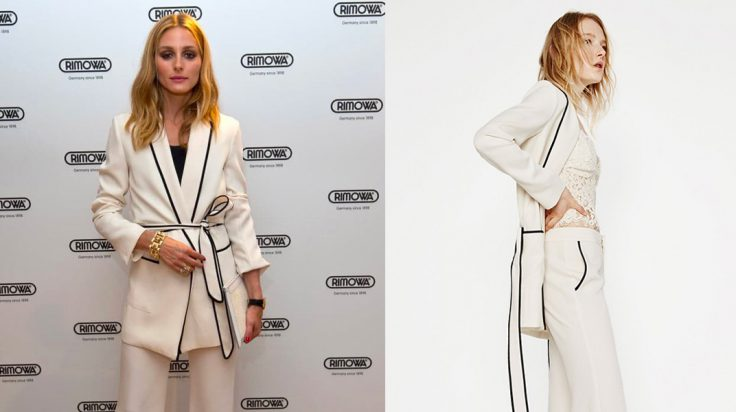 Celebrities vestidas de Zara Olivia Palermo
