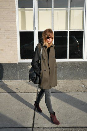 Natalia, Oversized coat