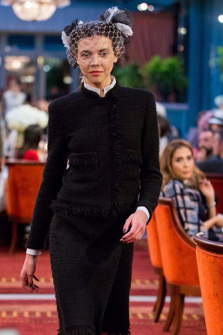 desfile #ParisCosmopolite de Métiers d'Art de Chanel 26