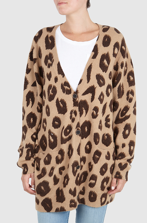 Cárdigan de leopardo de Primeriti