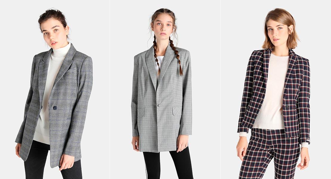 Así se lleva la chaqueta de cuadros, la prenda estrella del otoño