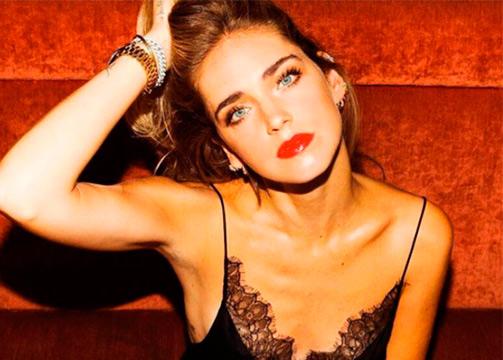 Chiara Ferragni labios rojos Vinyl Cream