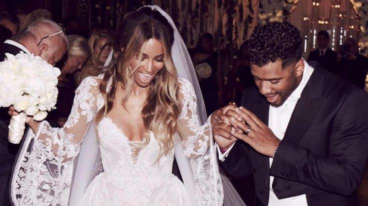 Ciara y Russell Wilson boda Inglaterra